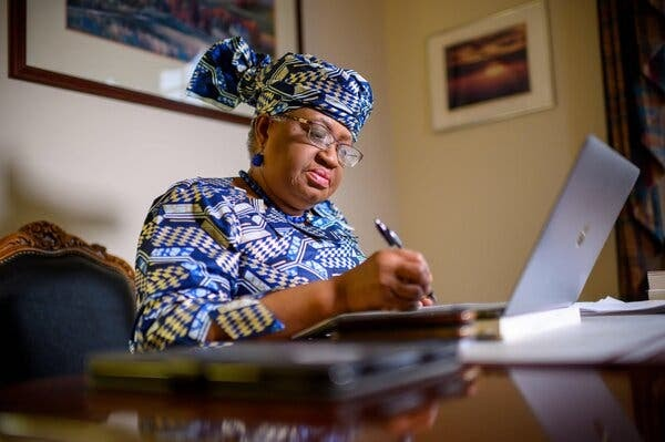 Ngozi Okonjo-Iweala prepares to take over as director-general of the World Trade Organization