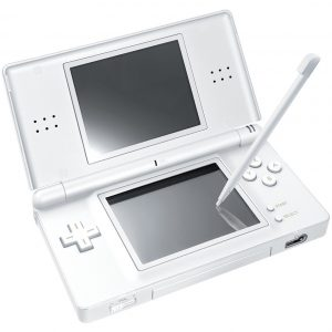 creativecommons.org  A white Nintendo DS, the handheld which the original Diamond and Pearl were made for