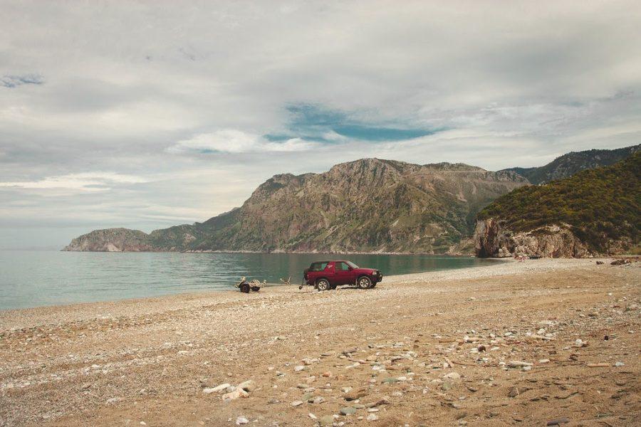Evia Island, Hiliadou Beach