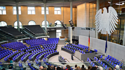 The German Bundestag, the legislative lower house elected by the people// Tobi NDH via creative commons